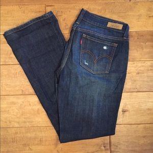 Levi's 545 boot cut jeans
